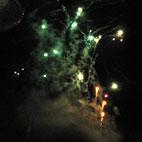 Feuerwerk - Feuerwehr Halle-Diemitz