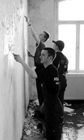 Renovierung des Schulungsraumes