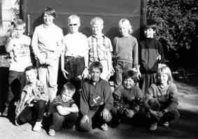 Jugendfeuerwehr um 1992