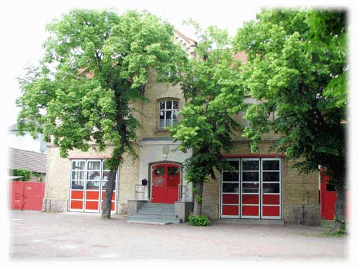 Gerätehaus Feuerwehr Halle-Diemitz